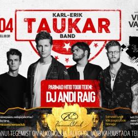 KARL-ERIK TAUKAR BAND 20th OF APRIL IN VENUS CLUB