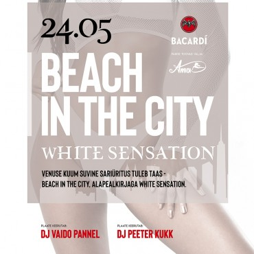 BEACH IN THE CITY – WHITE SENSATION