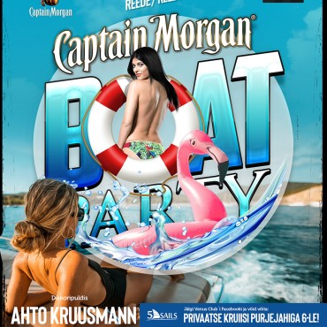 CAPTAIN MORGAN BOAT PARTY