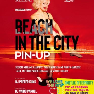 BEACH IN THE CITY: PIN-UP SPECIAL