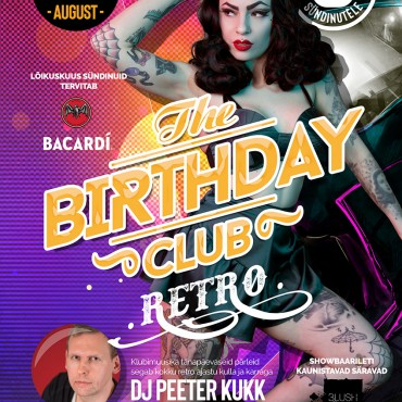 BIRTHDAY CLUB – RETRO SPECIAL