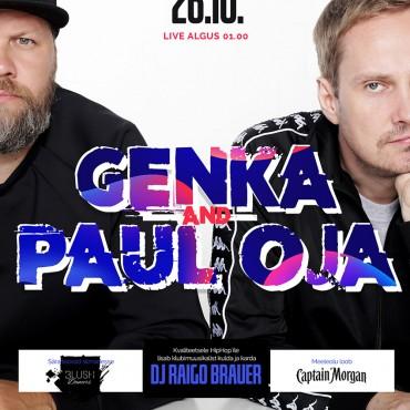 GENKA & PAUL OJA LIVE