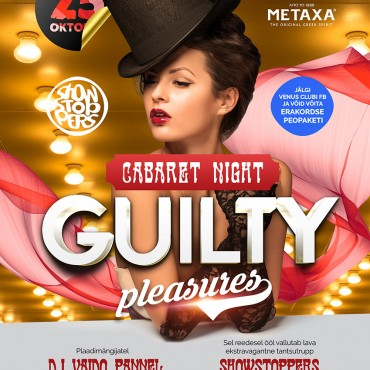 GUILTY PLEASURES – CABARE´T NIGHT