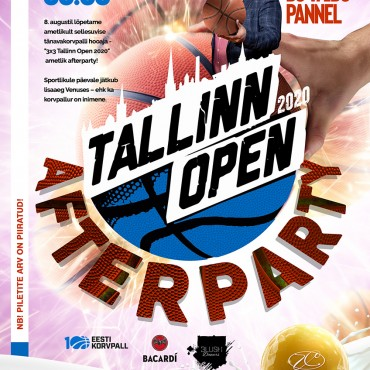 3X3 TALLINN OPEN 2020 AFTERPARTY