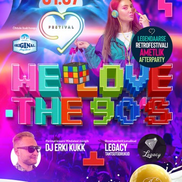 WE LOVE THE 90´S FESTIVAL AMETLIK AFTERPARTY